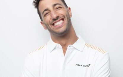 Per Ricciardo gli Open di tennis un modello per la F1