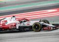 La C41 debutta in pista a Barcellona con Kubica