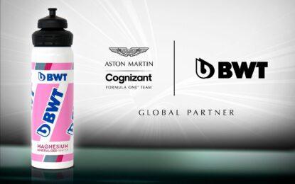 Partnership Aston Martin F1 e BWT. Ma livrea tutta nuova