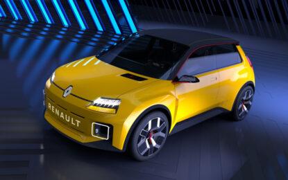 Renault 5 Prototype: ritorna la malizia di quei fari…