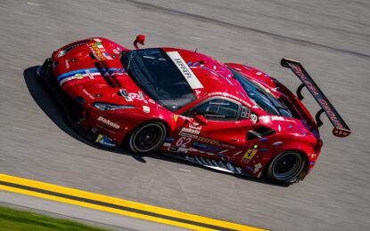 Quarto posto per Ferrari alla 24 Ore di Daytona