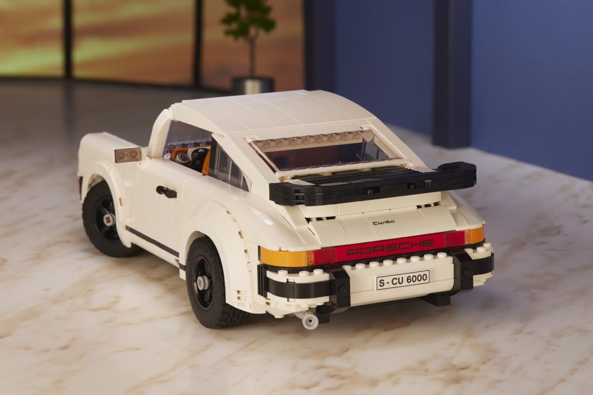 Set due in uno LEGO Porsche 911 Turbo e 911 Targa