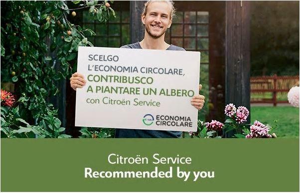 Scegli i ricambi rigenerati e Citroën pianta un albero per te
