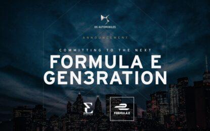 DS Automobiles in Formula E almeno fino al 2026