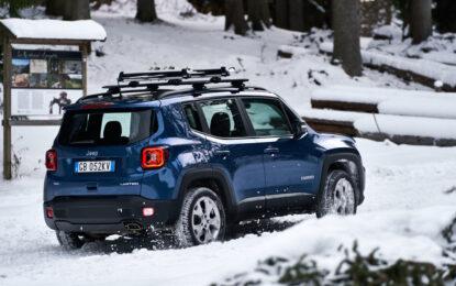 Guida in inverno con i modelli Jeep 4xe