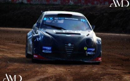 Paolo Diana e Tedak Racinginsieme nell'Italiano Rallycross