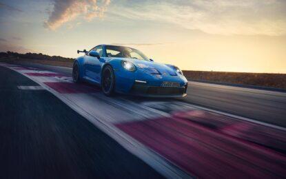 Nuova Porsche 911 GT3: concentrato di sportività