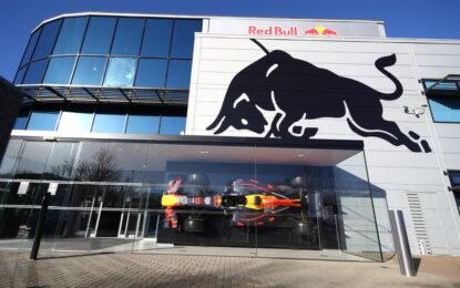 Dal 2022 Red Bull con tecnologia power unit Honda F1