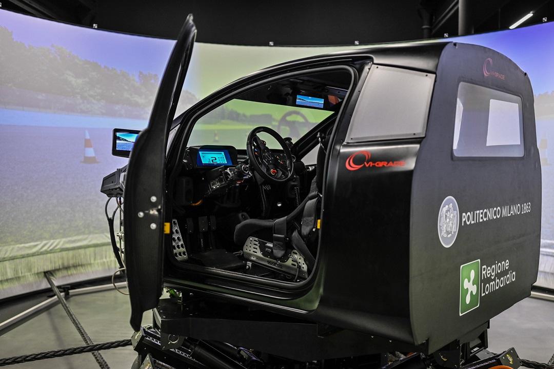 Da Politecnico e Regione Lombardia il simulatore senza conducente