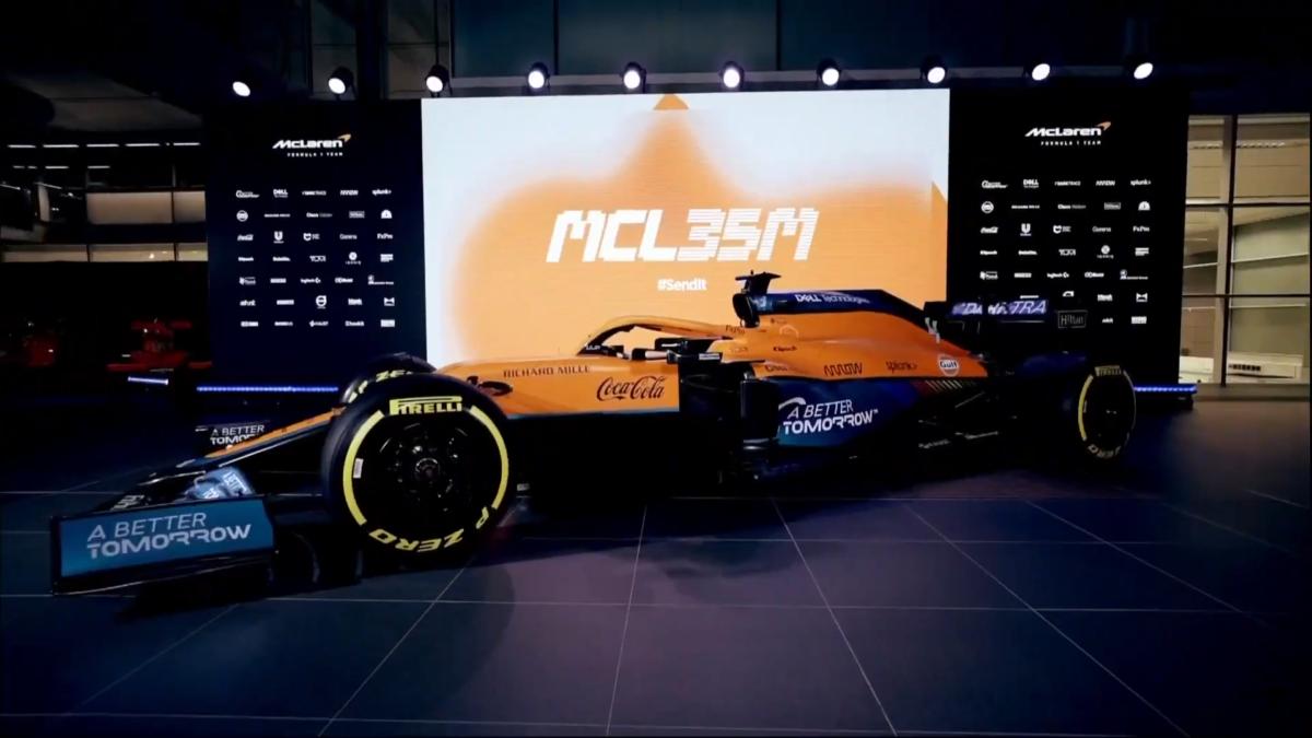La McLaren MCL35M di Norris e Ricciardo dà il via alle presentazioni 2021