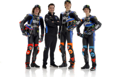 Lo Sky Racing Team VR46 si prepara all'ottava stagione