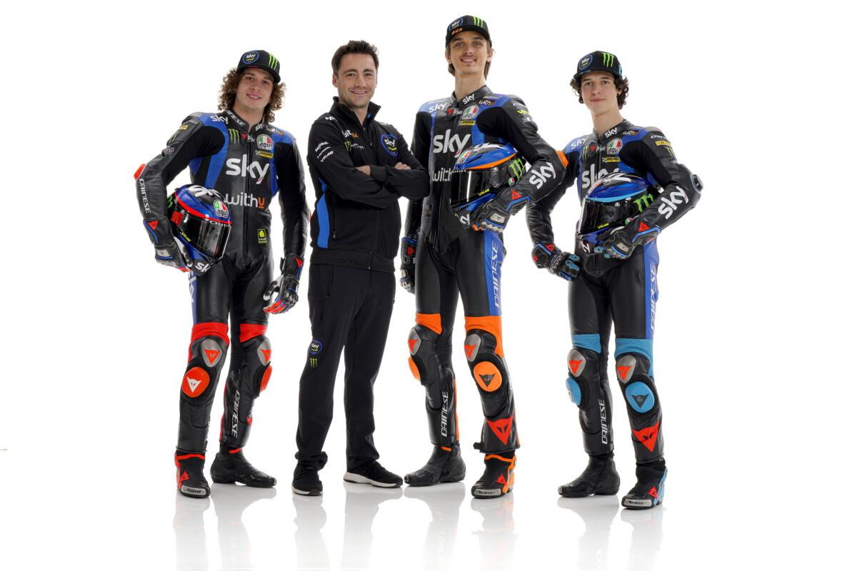 Lo Sky Racing Team VR46 si prepara all'ottava stagione