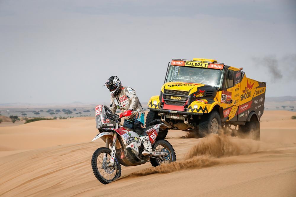 La FMI premia la leggenda della Dakar Franco Picco