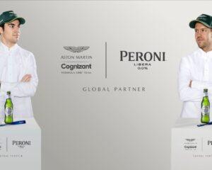F1 a tutta birra nel 2021! Aston Martin sceglie Peroni Libera 0.0%