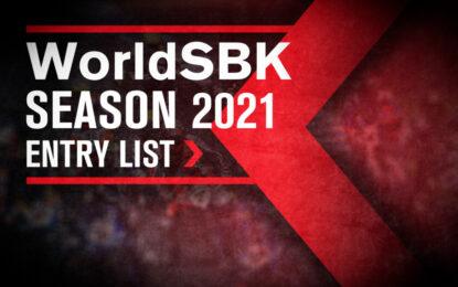 24 piloti confermati nella entry list WorldSBK 2021