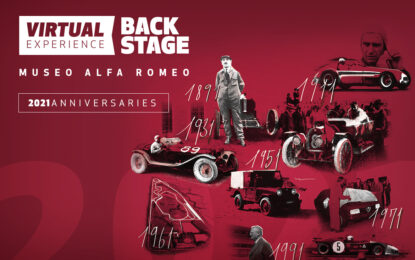 Dodici appuntamenti dedicati alla storia Alfa Romeo