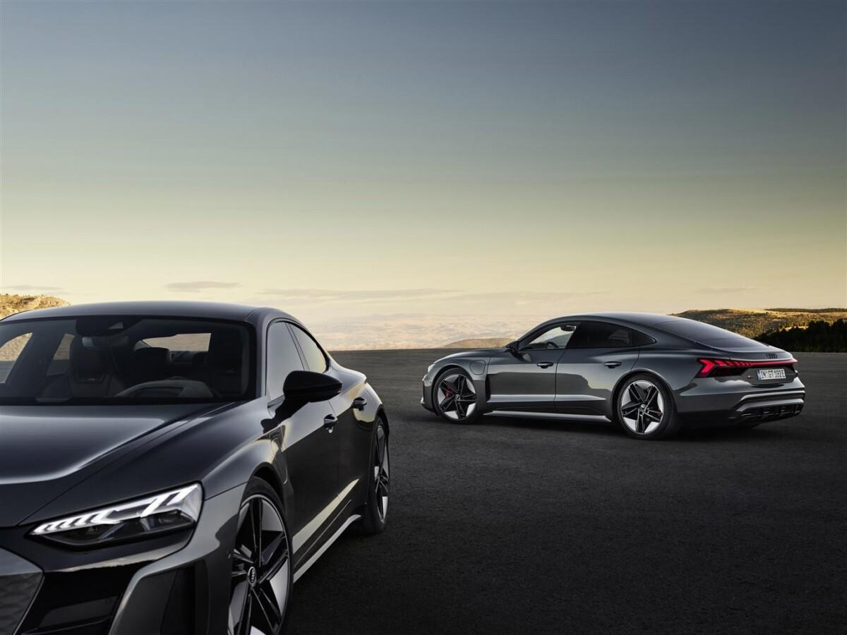 e-tron GT: via agli ordini della prima GT elettrica Audi
