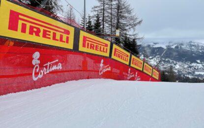 Pirelli main sponsor dei Mondiali di Sci a Cortina
