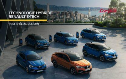 La tecnologia Renault E-TECH premiata ai Trofei Argus 2021