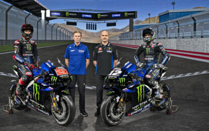 Yamaha in MotoGP fino al 2026