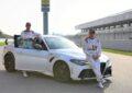 Giulia GTA in pista con i piloti Alfa Romeo