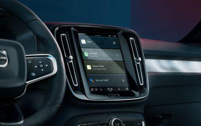 Joint venture Volvo Cars-ECARX per lo sviluppo di sistemi di infotainment