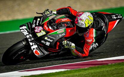 MotoGP: nel primo giorno di test brillano Espargaro e l'Aprilia