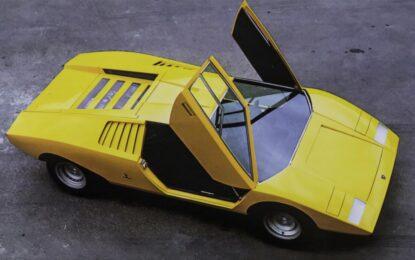 50 anni di Lamborghini Countach LP 500