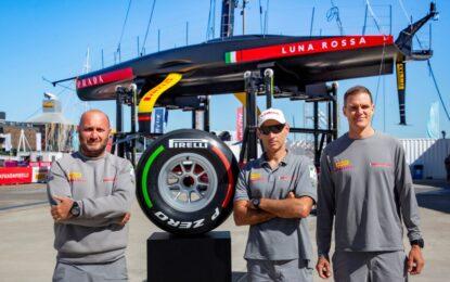 All'asta un pneumatico Pirelli F1 firmato dal team Luna Rossa