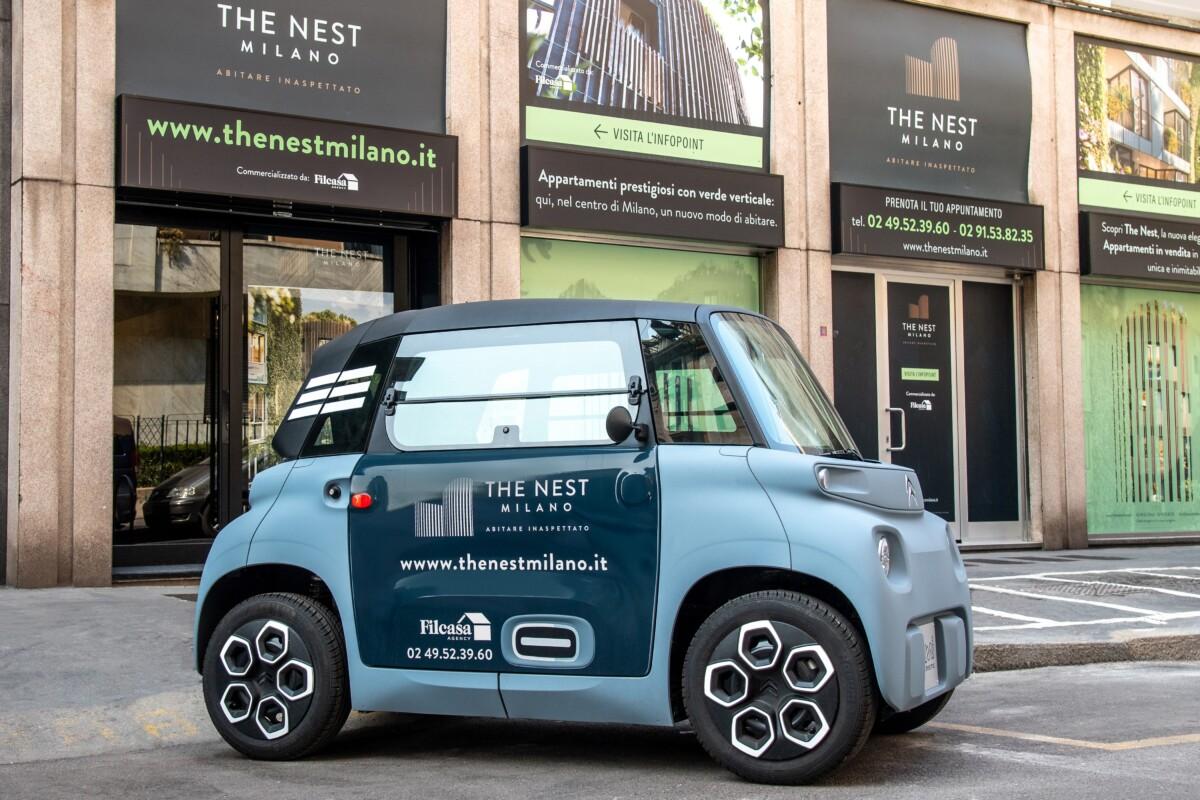 Citroën e Free2Move lanciano il car sharing condominiale