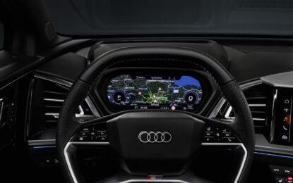 Audi Q4 e-tron: spazio e realtà aumentata