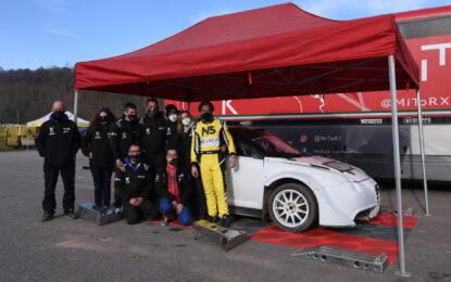 Primo test di Paolo Diana sulla Mito by Tedak Racing