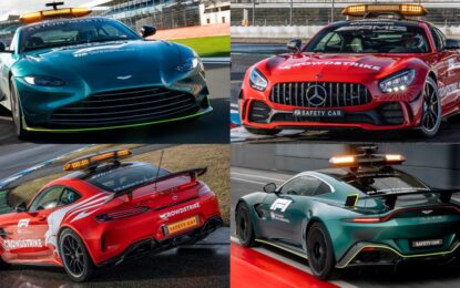 Aston Martin e Mercedes-AMG Official Safety e Medical Car F1