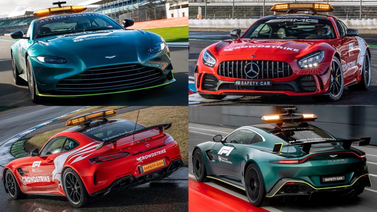 Aston Martin e Mercedes-AMG Official Safety e Medical Car F1