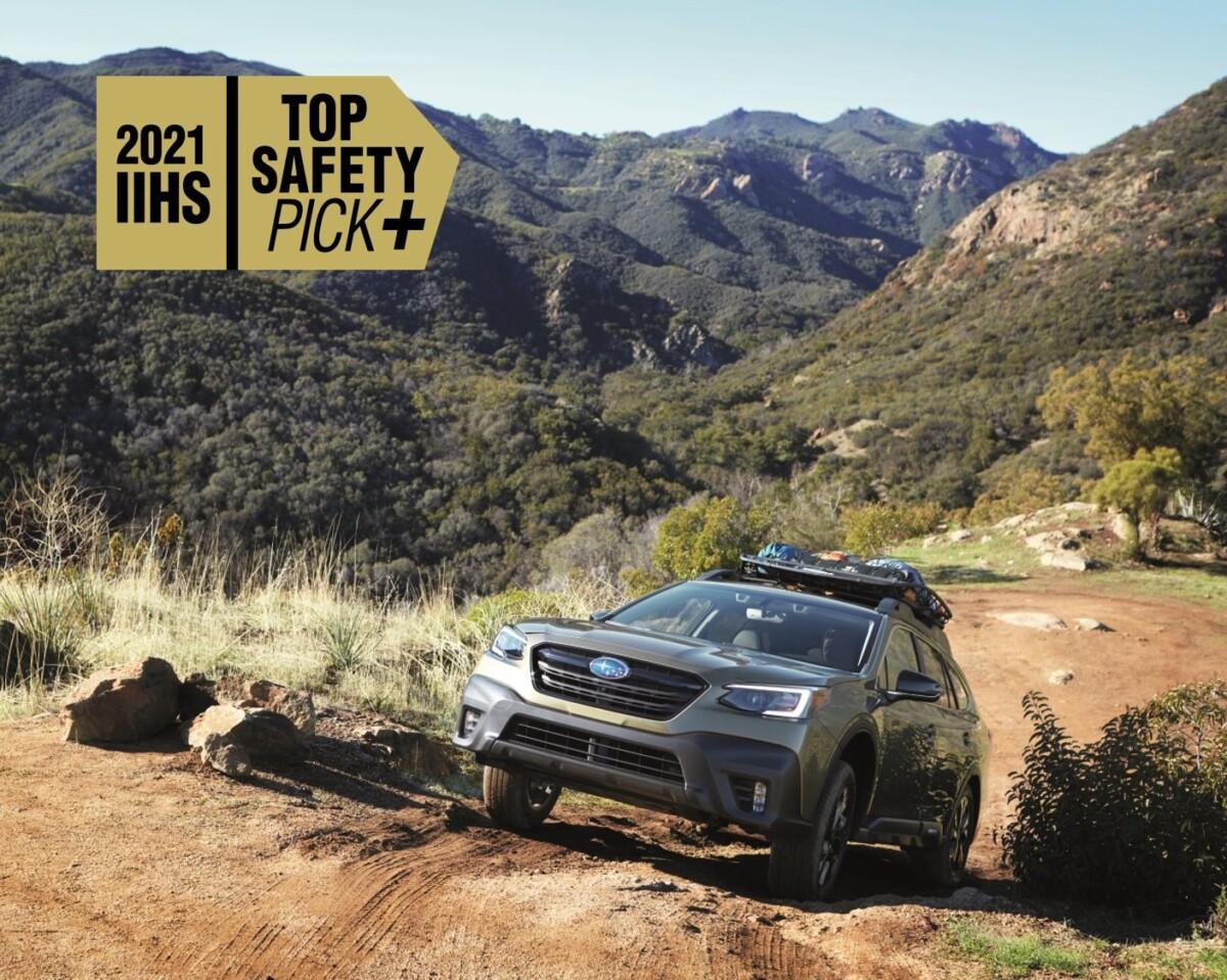 La sicurezza Subaru premiata con 9 Top Safety Pick Awards
