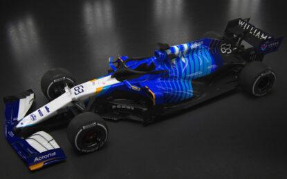 Nuova livrea per la Williams Mercedes FW43B