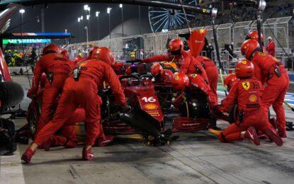 Bahrain race debriefing Scuderia Ferrari