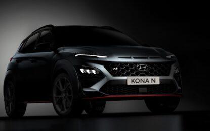 Da Hyundai i primi teaser di Nuova KONA N