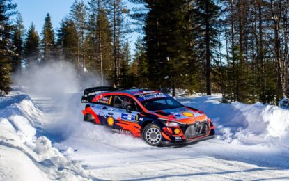 WRC: in Finlandia prima vittoria 2021 per Hyundai Motorsport