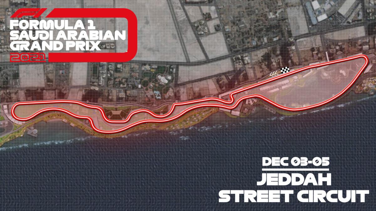 F1 e Arabia svelano i dettagli del Jeddah Street Circuit