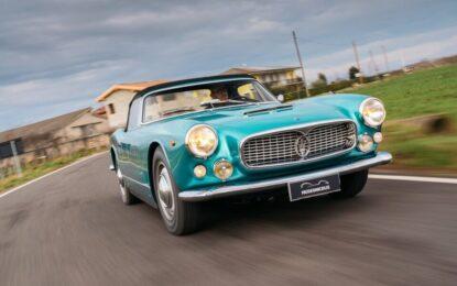 Il Museo Nicolis nello shooting Maserati FuoriSerie