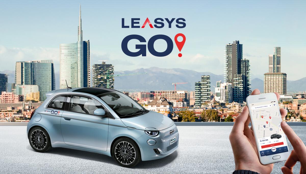 In arrivo a Milano LeasysGO!, primo car sharing dedicato alla 500