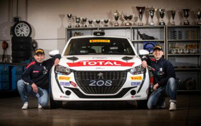CIR: Peugeot pronta per il Ciocco con il nuovo equipaggio