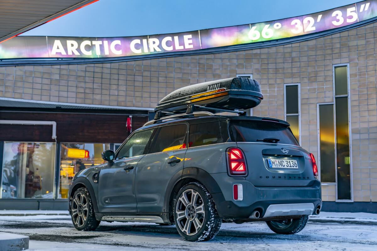 Con la MINI Cooper S Countryman ALL4 al Circolo Polare Artico