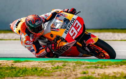 Marquez di nuovo in pista. Il Qatar si avvicina