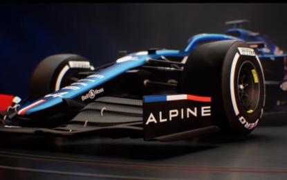 Alpine F1 Team lancia la A521. Grande assente Alonso