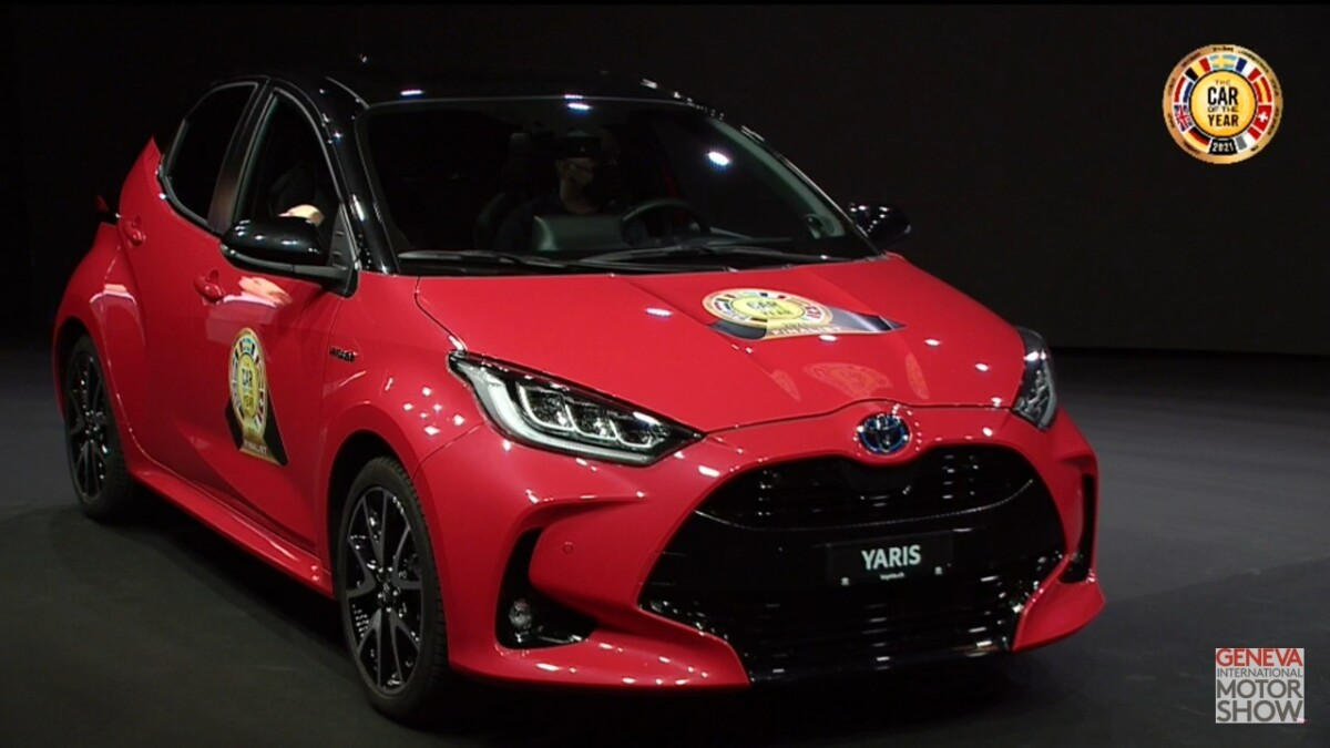 Toyota Yaris vince il COTY2021