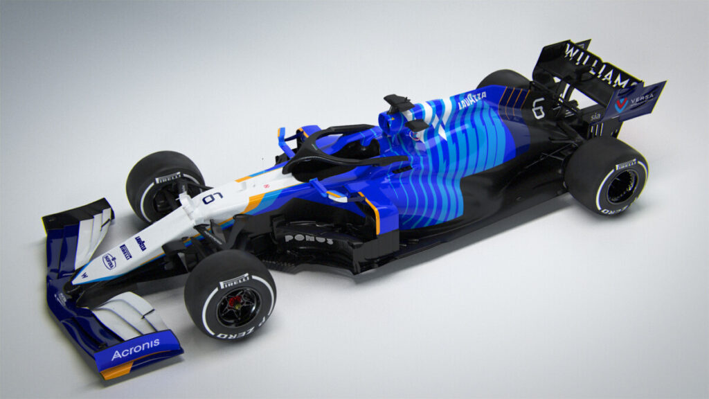 Williams Racing FW43B – 2021 Car Launch, Grove, Oxfordshire, UK