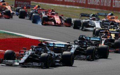 Anche a Silverstone la sprint race. Di circa mezz'ora