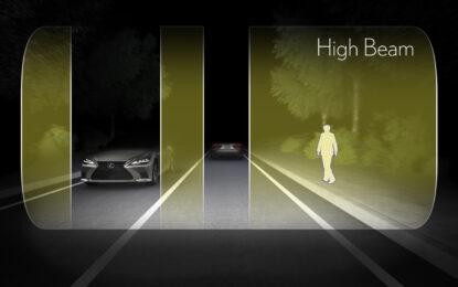 Nuova Lexus LS: le tecnologie per una guida più sicura